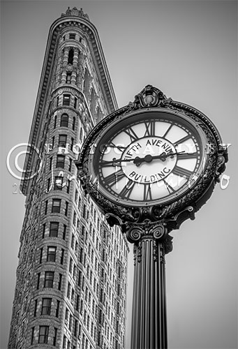 """The Flatiron Building is located at the intersections of Fifth Avenue, Broadway and East Twenty-Second Street, New York City. This neighborhood of Manhattan is call the Flatiron District after this iconic building. This skyscraper was completed in 1902 and is an official """"New York City Landmark"""". In 1979 it was added to the """"National Register of Historic Places"""" and in 1989 to the list of """"National Historic Landmark""""."""