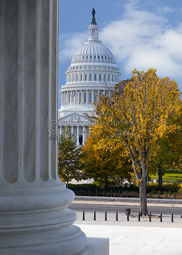 """""""The Capitol from the Supreme Court"""""""