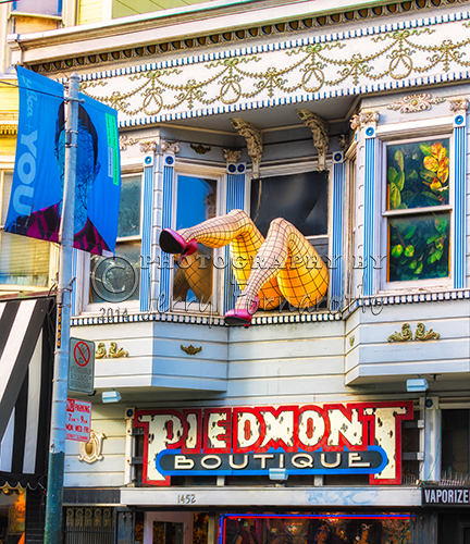 The Piedmont Boutique is located on Haight Street in the heart of the Haight/Ashbury District of San Francisco. The Piedmont is legendary for fun items like costumes, lingerie, jewelry, wigs, makeup and fans.