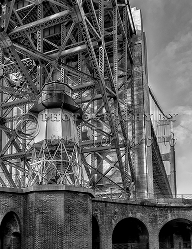 "Black and white copy of ""Fort Point Lighthouse""."