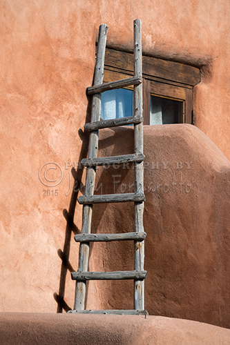 Adobe Ladder from Santa Fe, New Mexico.