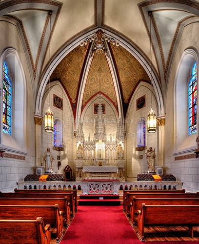 Loretto Chapel was completed in 1878. The chapel is now a museum.