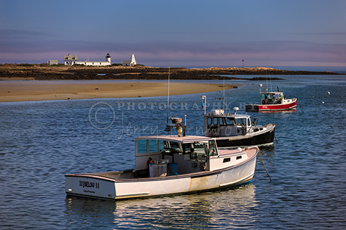 Cape Porpoise, Maine is a small coastal village in the town of Kennebunkport, Maine. Goat Island Lighthouse marks the entrance to the harbor.