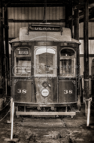 The Seashore Trolley Museum in Kennebunk, Maine was founded in 1938. The museum has over 250 transit vehicles in its collection.