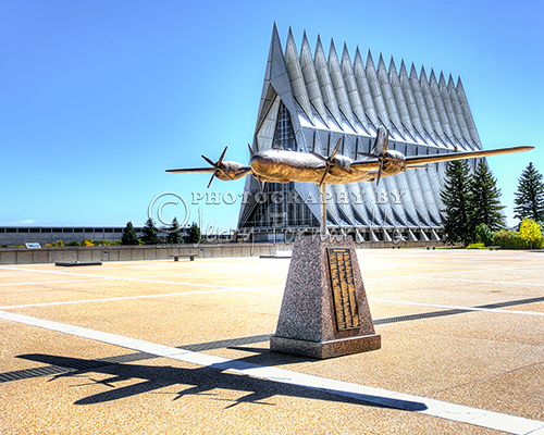 """US Air Force Academy Chapel"""