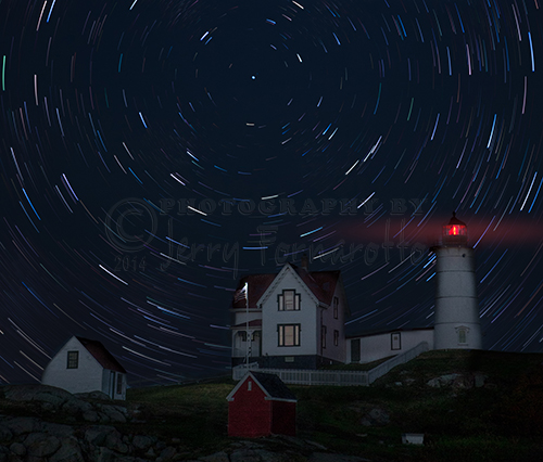 Nubble Startrails