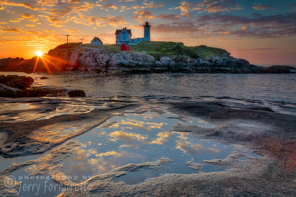 Dawn Breaking at Nubble