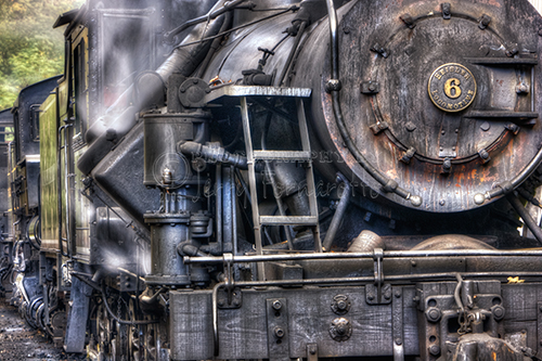 625 Heislers Steam Engines were produced, 35 still exist. 8 of these survivors are currently operational. #6 was built in 1929 and still runs on the Cass Scenic Railroad.