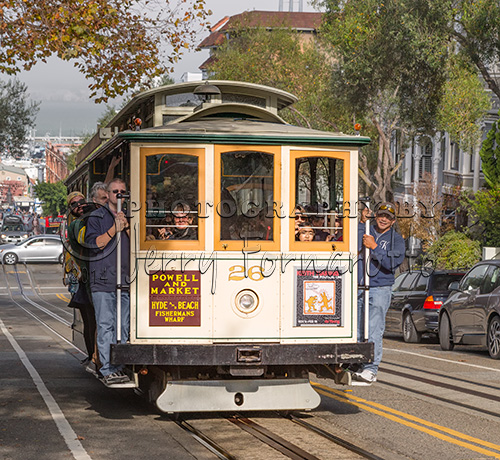 """San Francisco Cable Car"""