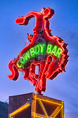The Million Dollar Cowboy Bar in Jackson Hole, Wyoming is one of the best known bars of the west. The bar was first opened in 1937. Many country singers got their start here.