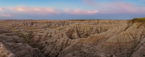 Overlooking Badlands National Park