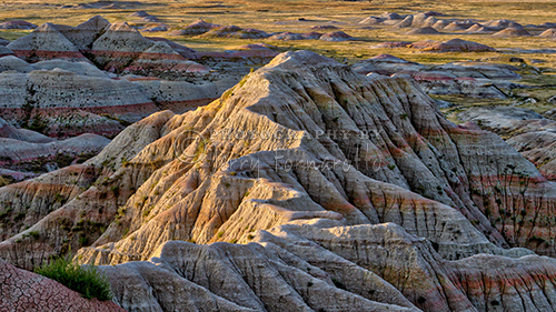 Eroded Butte Badlands National Park