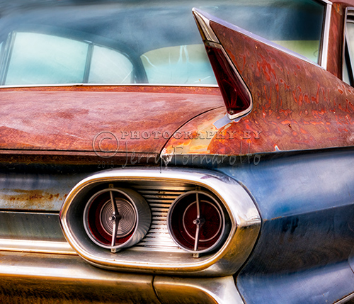 1961 Cadillac tail Light and Fin