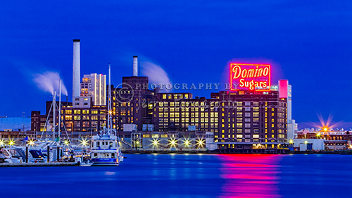 Domino has been operating in Baltimore's Inner Harbor for 90 years.