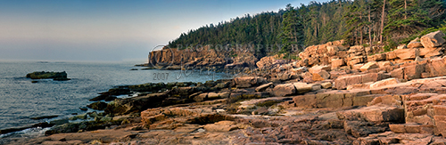 One of the most spectacular sights along the North Atlantic Seaboard is Otter Cliff in Acadia National Park. At 110 feet high, it is one of the highest headlands north of Rio de Janeiro.