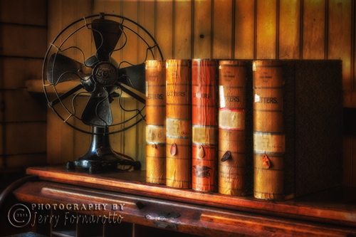 Books and Fan