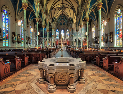 Cathedral of St. John the Baptist is the seat of the Roman Catholic Diocese of Savannah, Georgia.