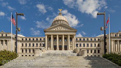 Mississippi State Capitol is located in Jackson, Mississippi. The building is a National Register of Historic Places and a National Historic Landmark