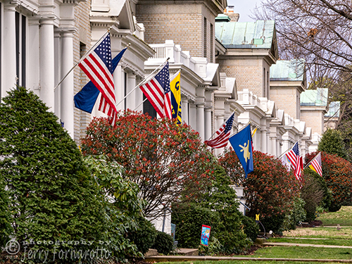 The United States Naval Academy is a four-year coeducational federal service academy in Annapolis, Maryland, United States. The school opened on 10 October 1845. The entire campus is a National Historic Landmark.