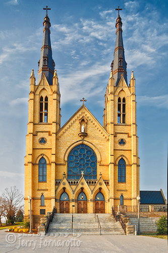 Saint Andrews Church is located downtown Roanoke, Tennessee. The church is a national and a state landmark.