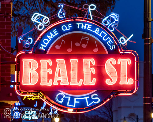 Beale Street Home of the Blues