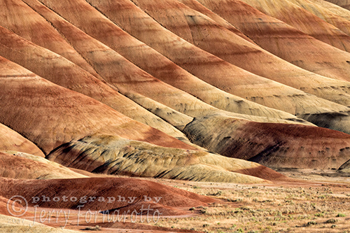 Painted Hills Textures