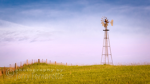 Old Palouse Windmill
