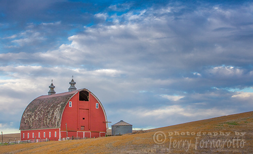 Palouse Red Barn
