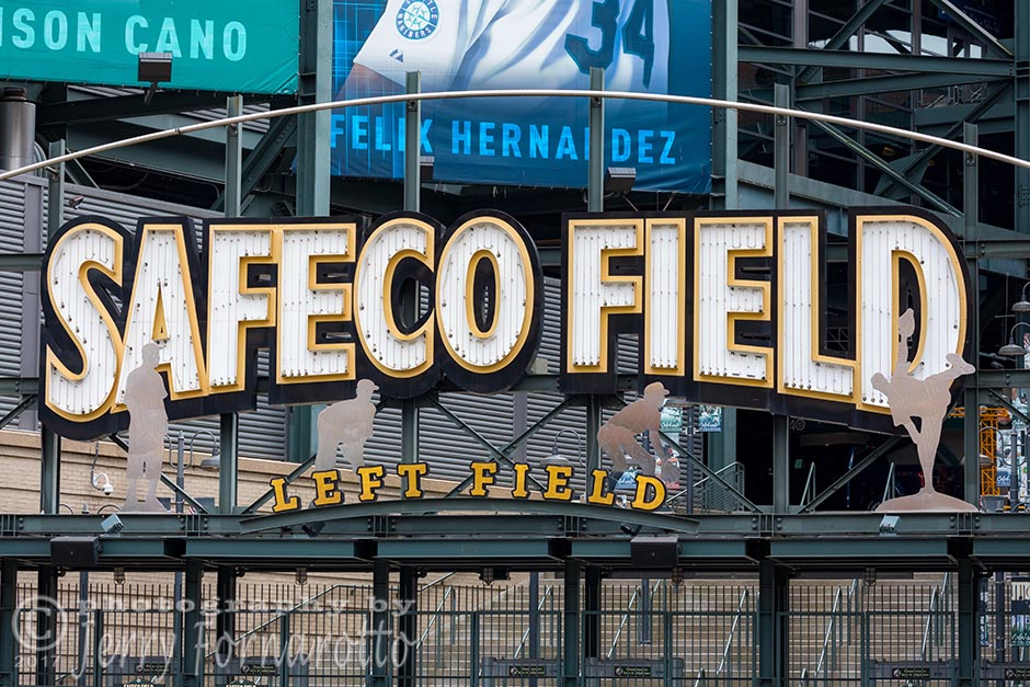 "Safeco Field is sometimes called ""The Safe"". This baseball park is located in Seattle, Washington and is the home of the Seattle Mariners. Canon 5D MKIV, Canon 100-400mm set to 135mm, 1/400sec, f10"