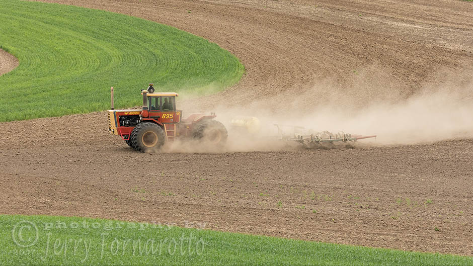 Plowing in the Palouse