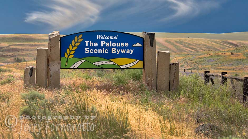 Welcome to the Palouse Scenic Drive