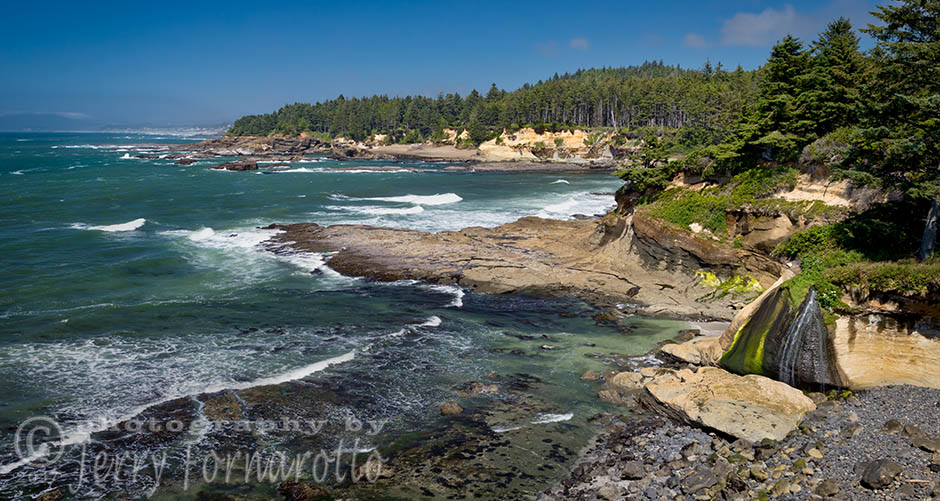 Boiler Bay State Scenic Viewpoint is a state park located in Oregon.. The park is one mile north of Depoe Bay, Oregon.