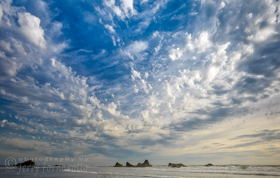 Ruby Beach Clouds